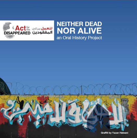 ACT documentary Neither dead nor alive cover