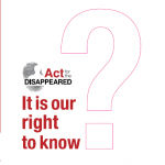 ACT Publication It is our right to know Cover